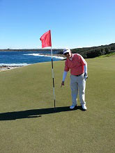 Peter Swan hole in one golf tours