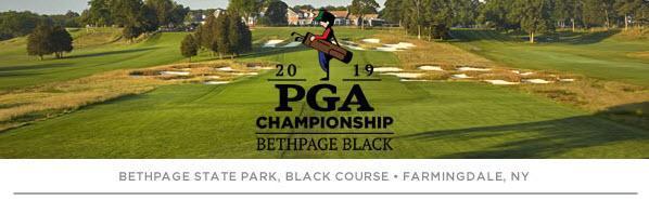 2019 Bethpage black pga logo
