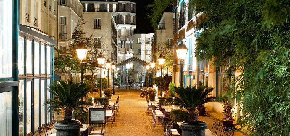 The Jardin du Marais Paris