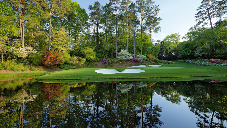 00f91ca3e04e48 Imagine being at Augusta National to witness the drama that always comes as  the leaders play the back nine at Augusta on Sunday!